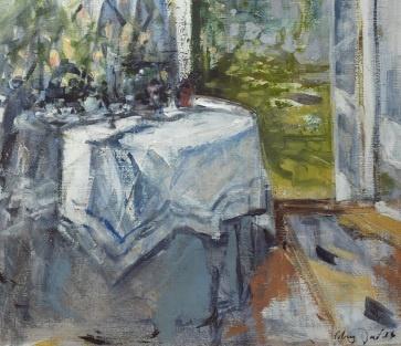 Mary Fowlds Blue Interior