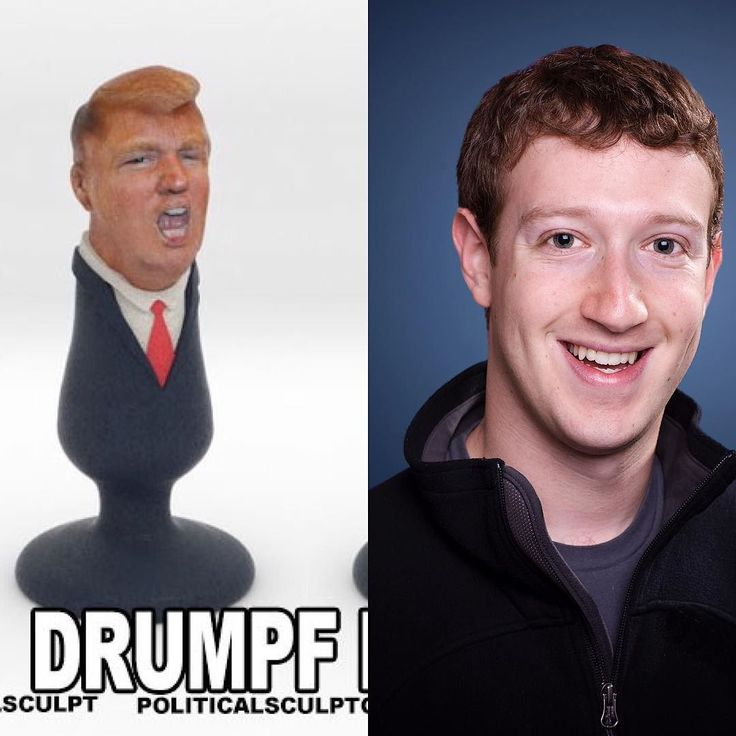 I'm going to make a @zuck butt plug if he doesn't undelete my @mstyle183 Instagram account!! #markzuckerberg #trumpbuttplug #buttplug #trump #trumpbuttplug %#3dprinting #3dprint #shapeways by politicalsculptor