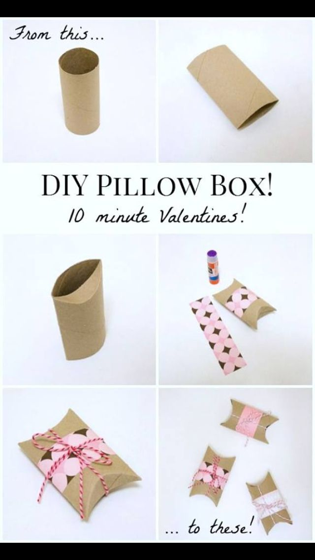 DIY Pillow box
