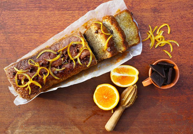 Dark Chocolate & Orange Loaf