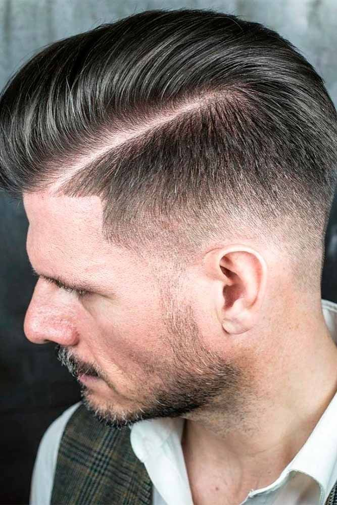 Opt For A Comb Over Haircut To Stay Up To Date Bearded