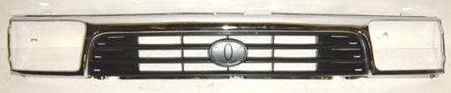 1992-1995 Toyota 4Runner Grille Chrome
