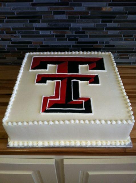 Texas Tech Groom's Cake