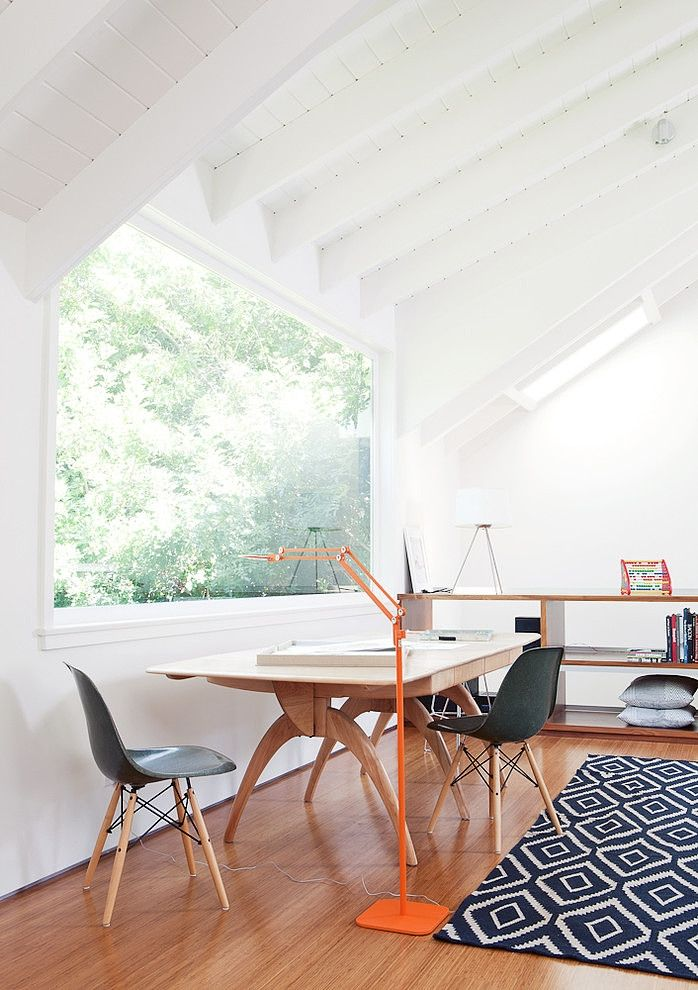 Lorraine Studio by Mike Jacobs Architecture | Fiberglass Shell Chair on Dowel base | http://modernica.net/dowel-side-shell.html