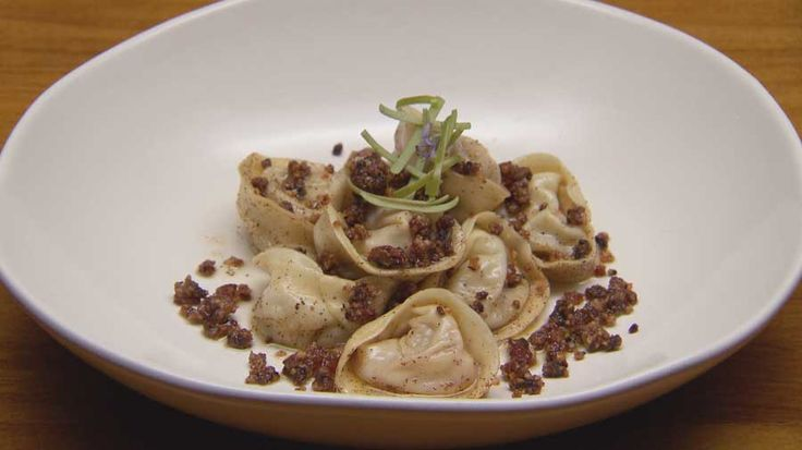 Blue Cheese, Apple and Fig Tortellini