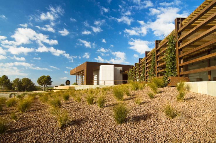 Wine cellar,Winery,Bodegas Torres, spain,http://bcarquitectos.com/wineries/waltraud-cellar-for-bodegas-torres-spain/,Exterior View wine,wineries,spain wineries,landscape,bodegas,spirits,miguel Torres,arquitectura bodegas,wineries architecture,winery landscape