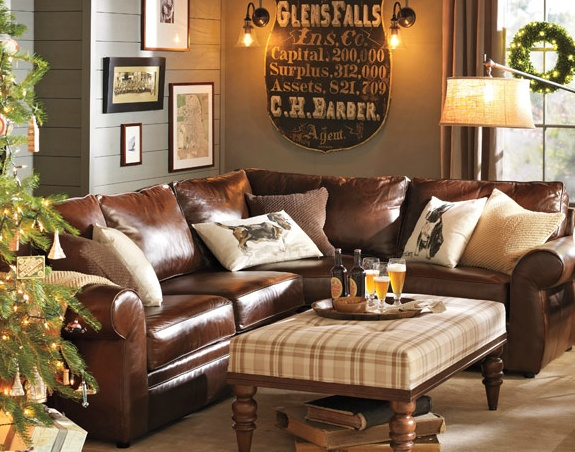 My Future Den For The Home Pinterest Leather