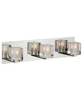 ET2 Lighting, Blocs 3-Light Vanity