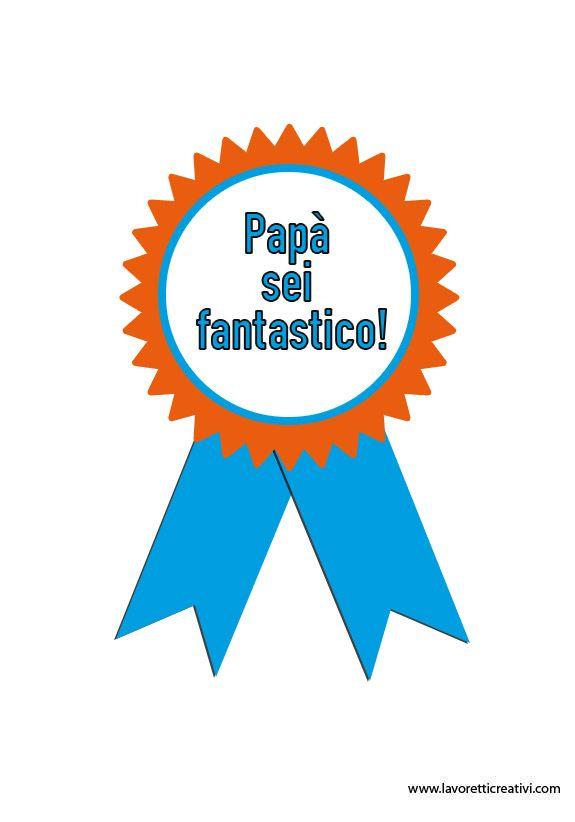 Coccarda per la Festa del Papà 1