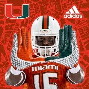 University of Miami new Hurricanes' football uniforms | weberlifedesignspeaks.com