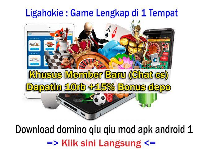 Download Domino Qiu Qiu Mod Apk Android 1 Main Di Website Resmi Bertestimoni Poker Game Monopoly