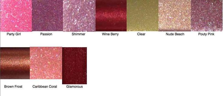 Lip Gloss Colors