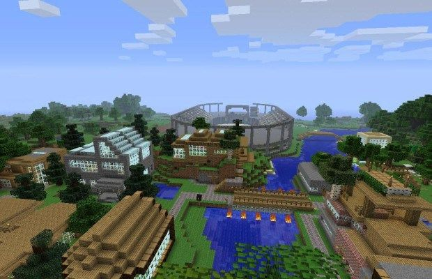 How To Build Landscape In Minecraft From Superflat