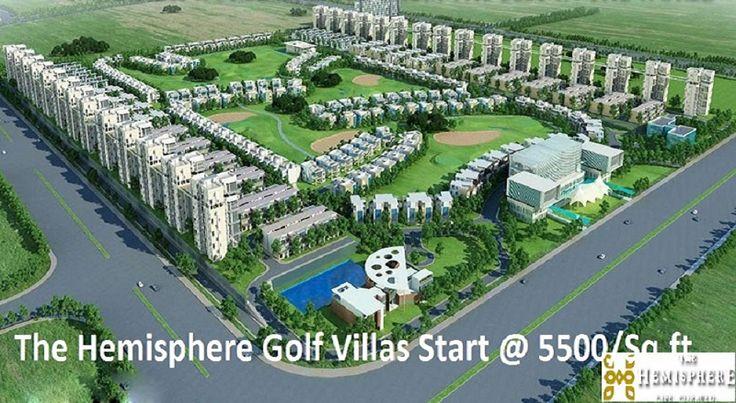 Luxury Golf Villas at The Hemisphere Greater Noida, Starts @1.5 Cr. Get Info Call 7533005334. #The_Hemisphere #GolfVillas  http://www.thehemispheregolfvillas.com/blog/golf-villas-at-the-hemisphere/