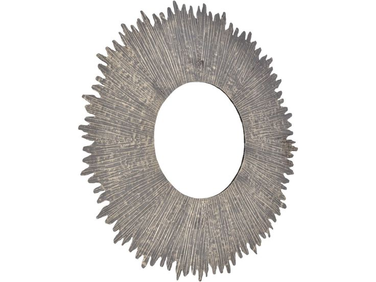 Libra Bali Metal Round Mirror Small