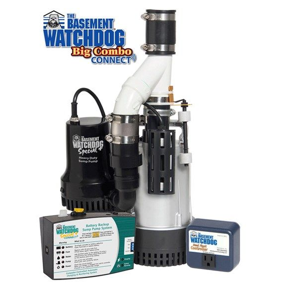 Basement Watchdog Big Combo Connect Model No Bw4000 Features And