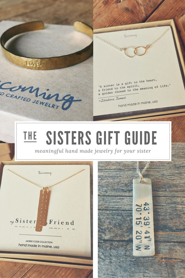 Best 25 sister gifts ideas on pinterest birthday ideas for Sentimental gift ideas
