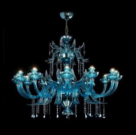 Люстра с каркасом из муранского стекла и декором из кристаллов Swarovski Garden Party, Beby Italy Group