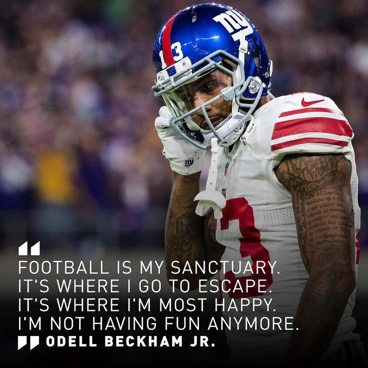 OBJ told ESPN's Anita Marks he's frustrated with the increased amount of attention on his behavior during games.