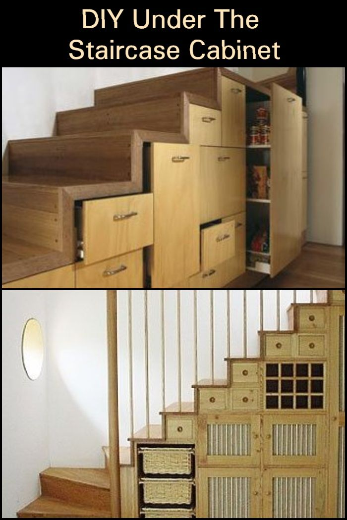 Make This Under The Staircase Cabinet Futon Design Futon Et Design