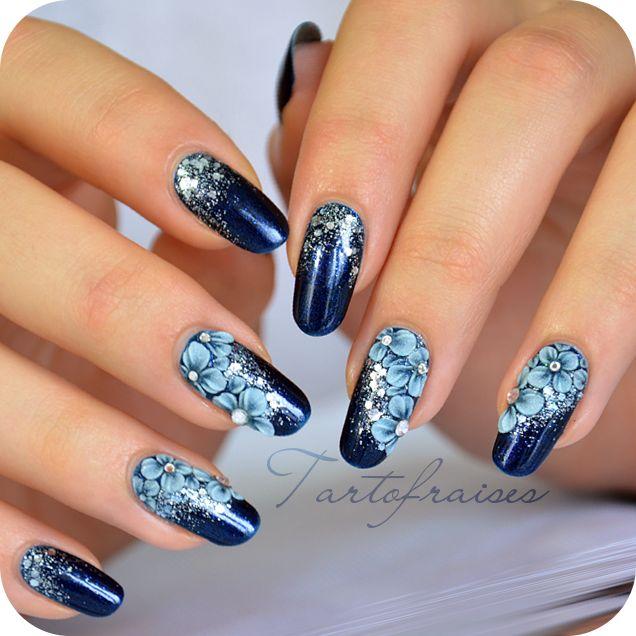 Nail art Galactika   Tartofraises