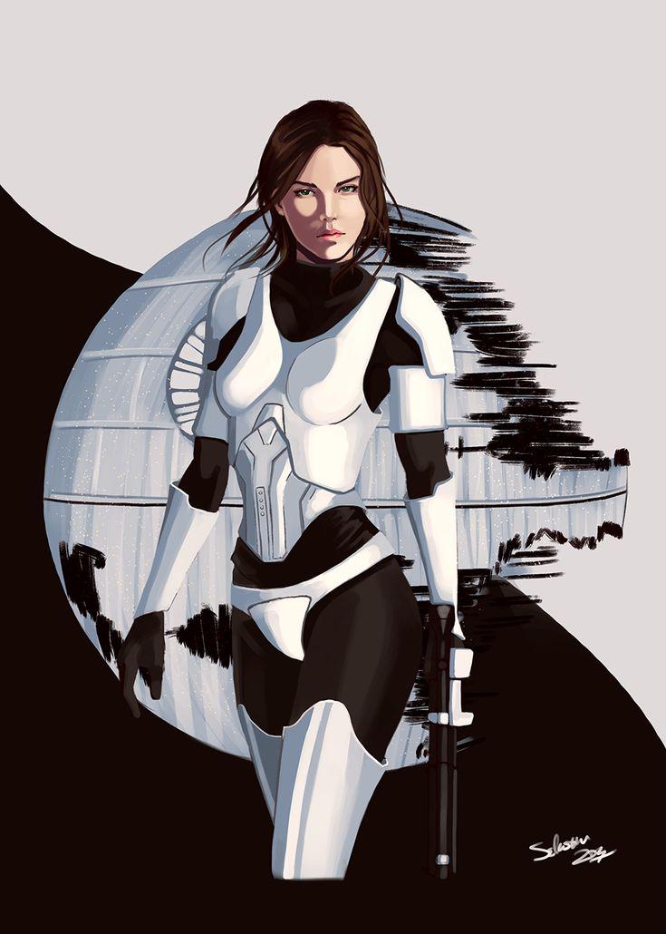Female_Stormtrooper by se-bas on DeviantArt