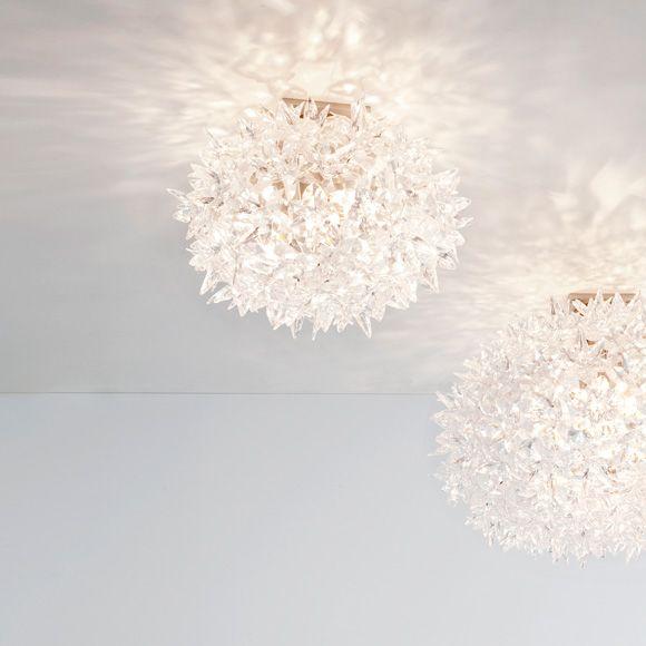 Bloom lamp III, Crystal, Kartell
