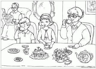 coloring pages of grandparents - 30 best images about thema grootouders kleurplaten on