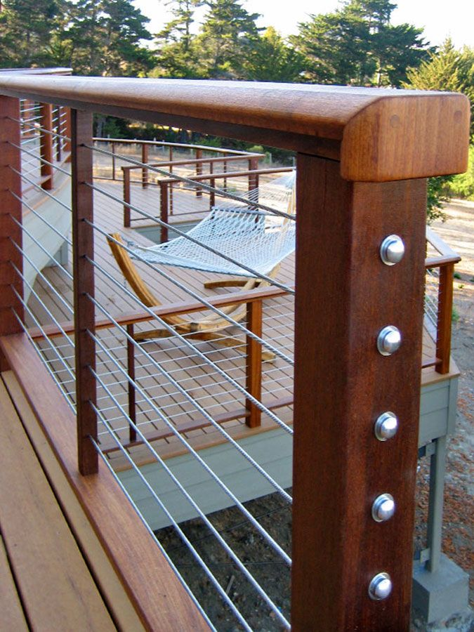 cable deck railing feeney cablerail cable railing with a view 10101