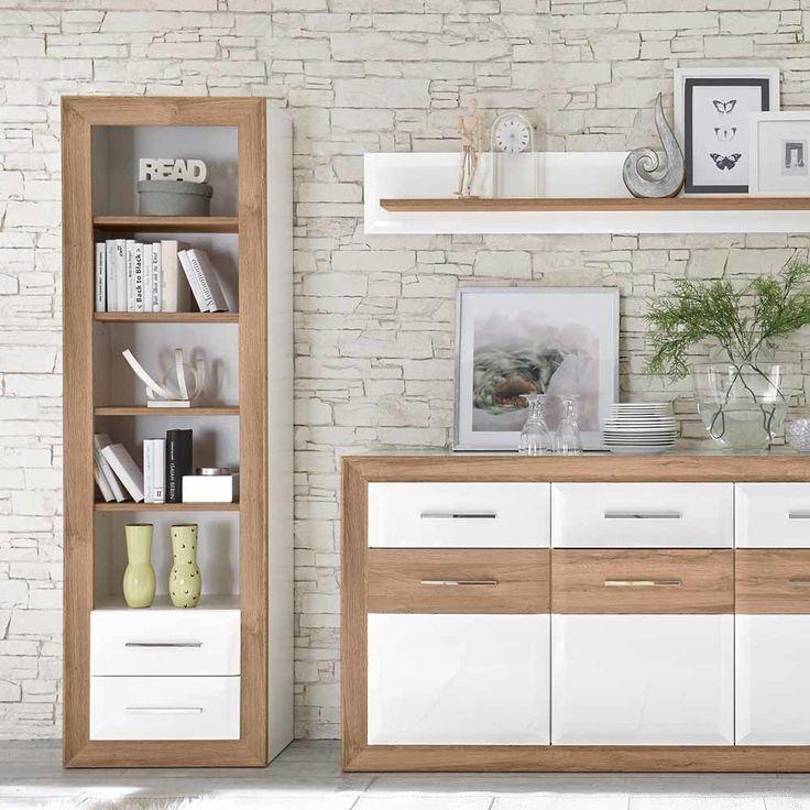 Die besten 25+ Regal weiß hochglanz Ideen auf Pinterest Ikea - h ngeschrank wohnzimmer wei