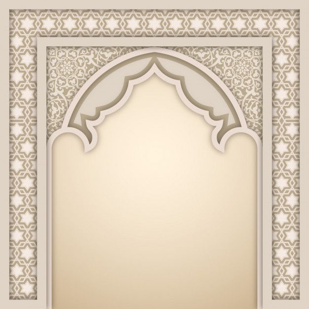 Islamic Arch Design Template In 2020 Frame Border Design Poster Background Design Design Template