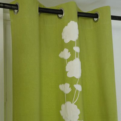 Bathroom decorating nature inspired brown green color Nature inspired shower curtains