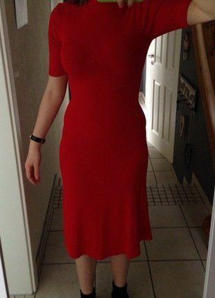 Kleid rot kleiderkreisel