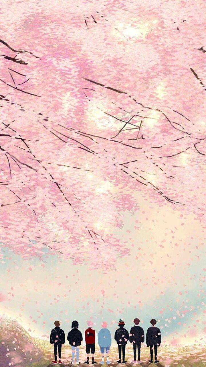 Pin By Annalena Henkel On Wallpaper Bts Spring Day Wallpaper Bts Wallpaper Bts Fanart Bts live wallpaper gif