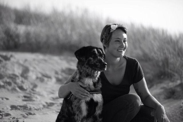 #dog #labrador #australian Shepherd #beach #friendship