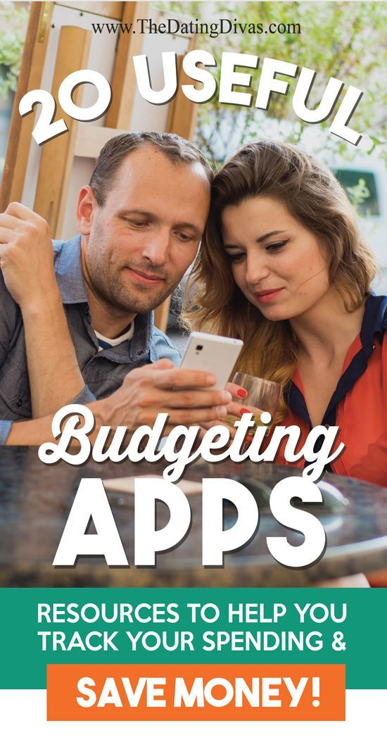 LOVE these apps for saving money and keeping track of budgets together!