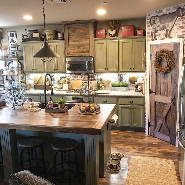 9284 best unique black sheep rustic farmhouse for Country kitchen pantry ideas