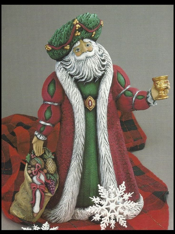 Ceramic Bisque Renaissance Santa, U Paint #Gare