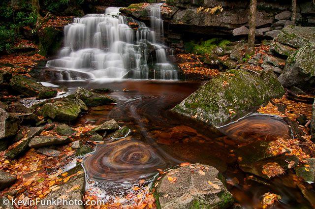 Elakala Falls #2 Blackwater Falls State Park West Virginia | Kevin Funk Photography