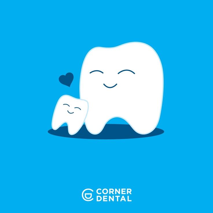 Happy Mother's Day! Social media artwork for Corner Dental in Toledo OH.