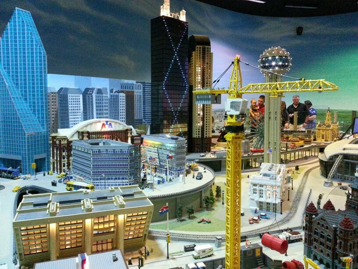 8 best Pictures from Legoland images on Pinterest   Lego  Legos and     lego downtown dallas at legoland grapevine texas