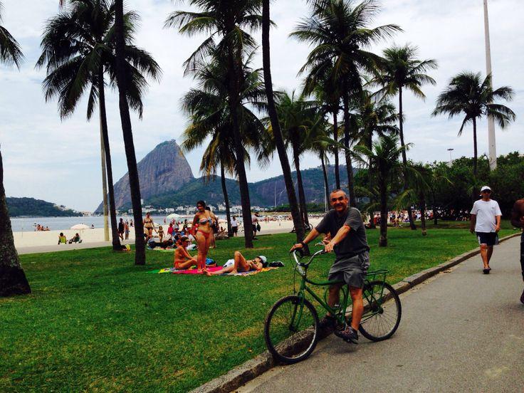 En clásica turística por Río de Janeiro