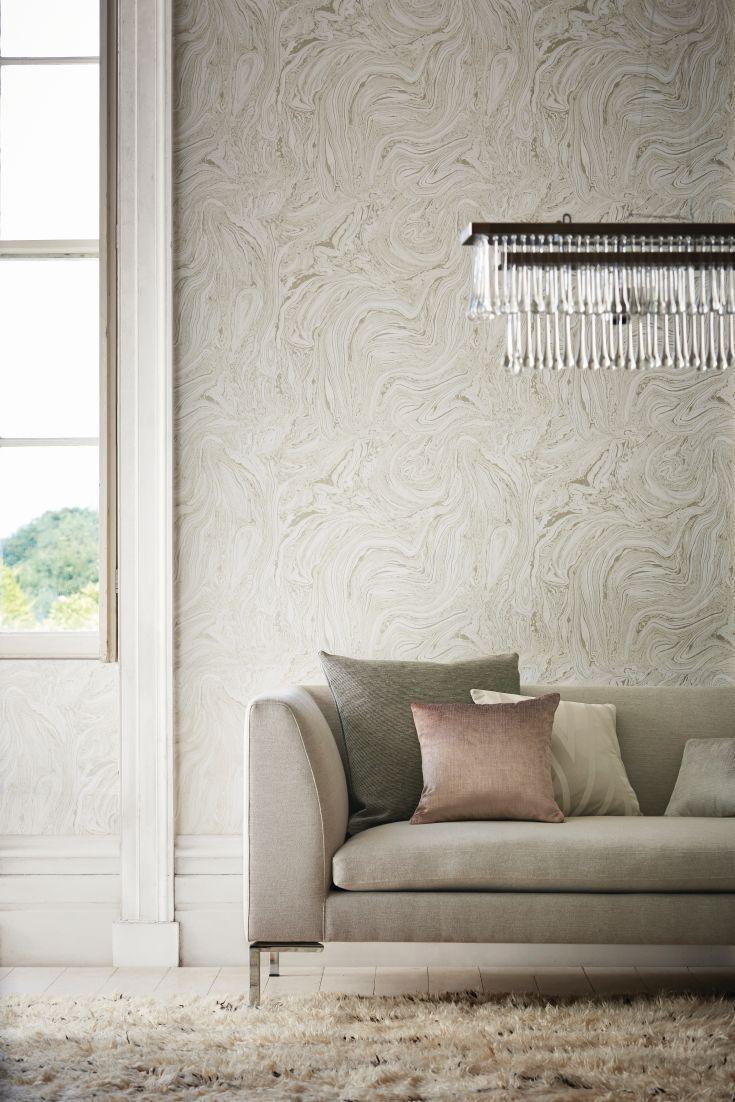 A Stunning Swirling Marble Effect Wallpaper Design Wallp
