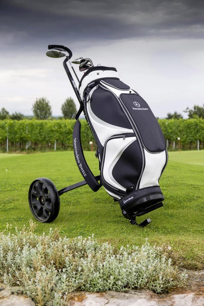 Golf cart bag mercedes benz collection pinterest for Mercedes benz golf cart