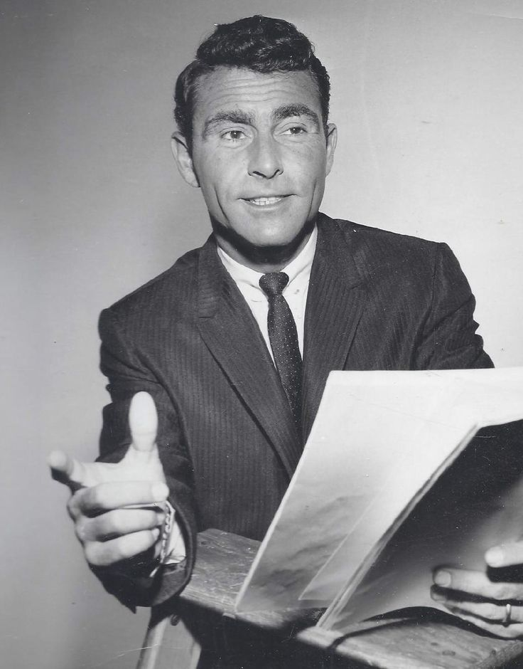 Rod Serling he could write my screen play for my movie if he was ...