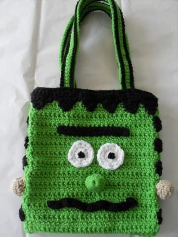 Beautiful Crochet Bags : Beautiful Crochet Designs Frankenstein Bag And Purse by flower for $20 ...