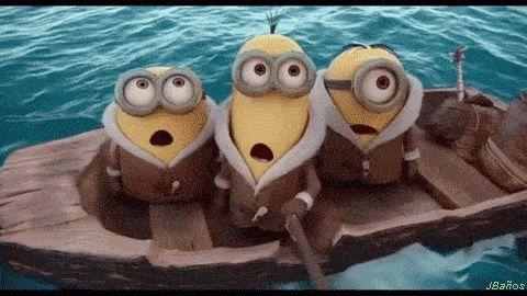 Los Minions llegan a América ♥  ☺