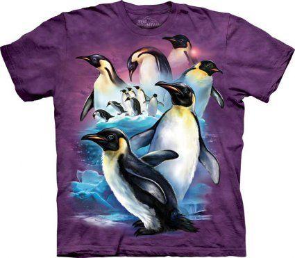 Emperor Penguins - The Mountain - Koszulka z pingwinami - sklep internetowy - www.veoveo.pl