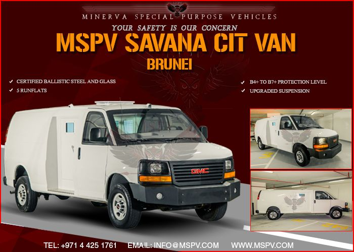 Armoured Cash In Transit Brunei Gmc Savana With Images Armored Vehicles Vehicles Armoured Personnel Carrier
