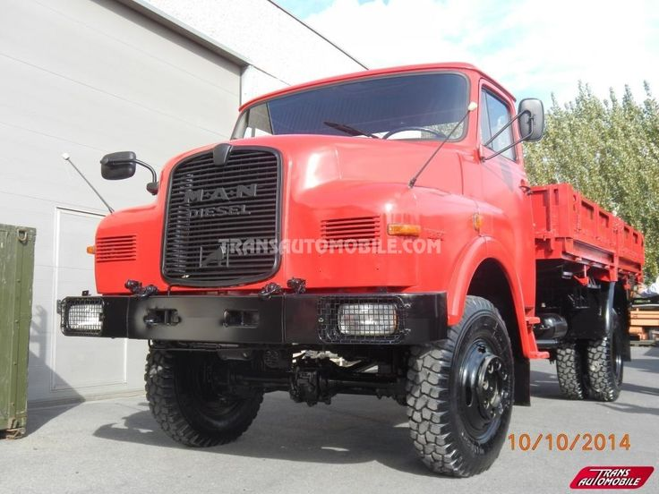 Trucks Flatbed Man 11.136 4X4 https://www.transautomobile.com/en/export-man-11-136/1105?PI